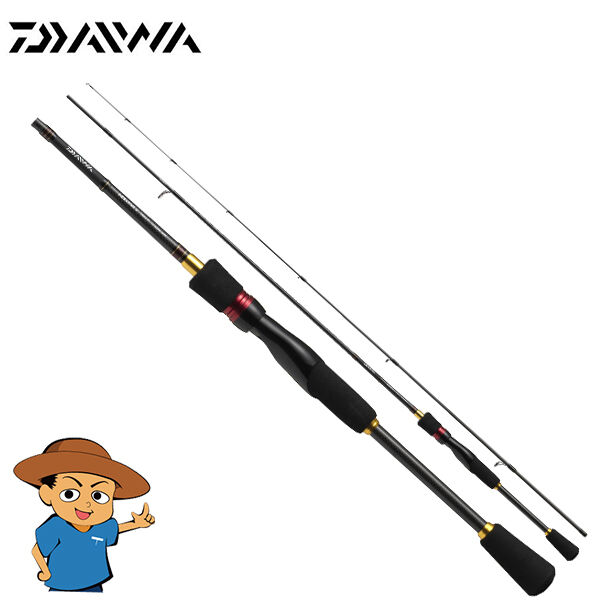 Daiwa MEBARING X 78L-S Light casting spinning fishing rod pole Solid tip