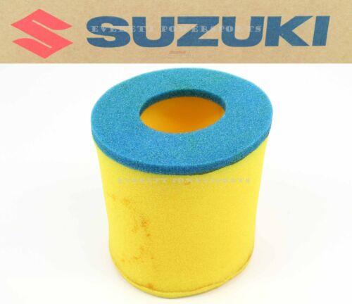 See Notes New Genuine Suzuki Air Filter Cleaner Eiger Vinson Quadsport #Y165