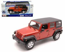 MAISTO 1/24 SPECIAL EDITION TRUCKS 2015 JEEP WRANGLER UNLIMITED DIECAST 31268OR