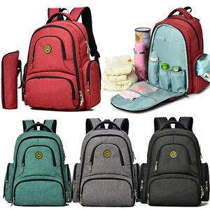 baby outdoor diaper nappy changing backpack rucksack stroller hanging mummy bag ebay. Black Bedroom Furniture Sets. Home Design Ideas