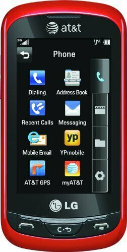 Lg Xpression C395 Red At T Cellular Phone For Sale Online Ebay