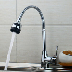 Kueche-Wasserhahn-Schwenkbecken-Waschbecken-Wasserhahn-Auslauf-Mischer