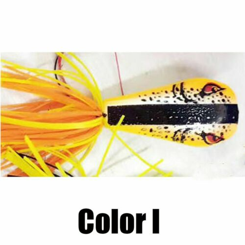 ABS Plastic Artificial Nakehead Hard Fishing Lures Cicada Frog Bass Bait