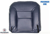95-99 Chevy Silverado 1500 -passenger Bottom Replacement Leather Seat Cover Blue