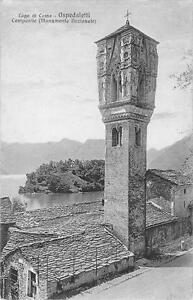 """Ansichtskarten Lago Di Como """" Ospedaletti """"2974"""" Unbeschrieben Um 1920 Kleinformat"""