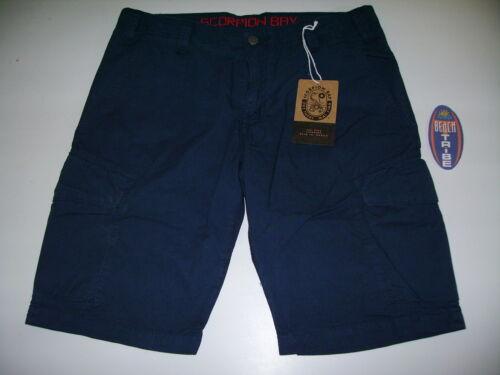 32 Ville' Pantalon Homme Bay Mbm2710 Short Poches Bleu Scorpion 8qCt1nw