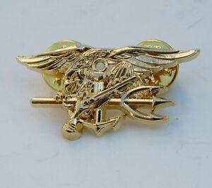 US-NAVY-SEAL-EAGLE-ANCHOR-TRIDENT-MINI-MEDAL-UNIFORM-INSIGNIA-BADGE-GOLD-33147