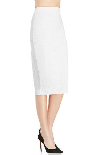 The Fifth Label Hey Blondie Grey Jersey Stretch Tube Pencil Skirt