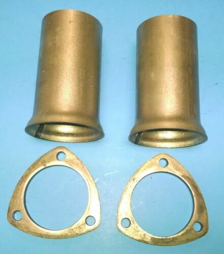 "3/"" HEADER TO 3/"" OD ALUMINIZED 3 BOLT BALL /& SOCKET HEADER COLLECTOR REDUCERS USA"