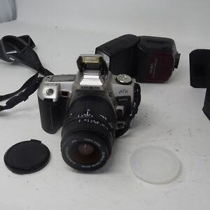 Minolta-XTsi-Maxxum-Spiegelreflexkamera-Minolta-AF-Zoom-28-80-Sigma-Zoomobjektiv