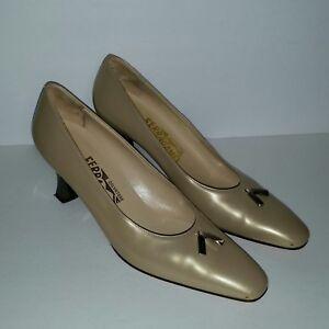 replica Ferragamo 4cm heels sandals nude shoes 3a