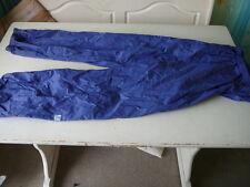 kway k-way pantalon  vintage mauve s'ouvre completement sur les cotés  T M