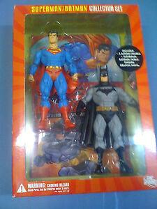 Dc Direct Superman Batman 2 Figure Mcquiness Set Bande Dessinée Nouveau Navire Libre Nous