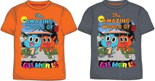 Fantastische Welt von Gumball T-Shirt 116 122 128 134 140 Shirt kurzarm Junge