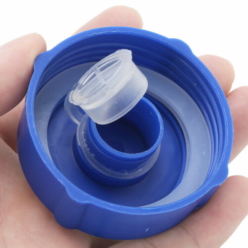 5Pcs 55mm Reusable Gallon Water Jug Bottle Snap//Screw On Cap Non-Spill Top Lids