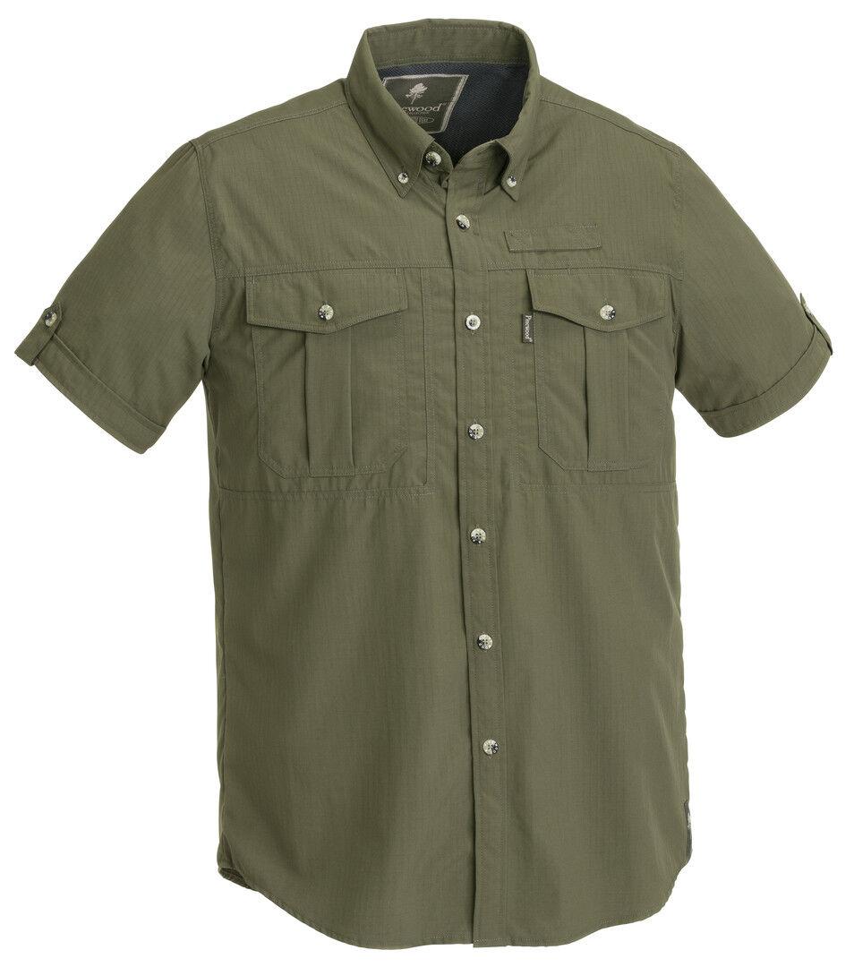 Pinewood Short Sleeved - Safari - Botswana - Green - 91272-100