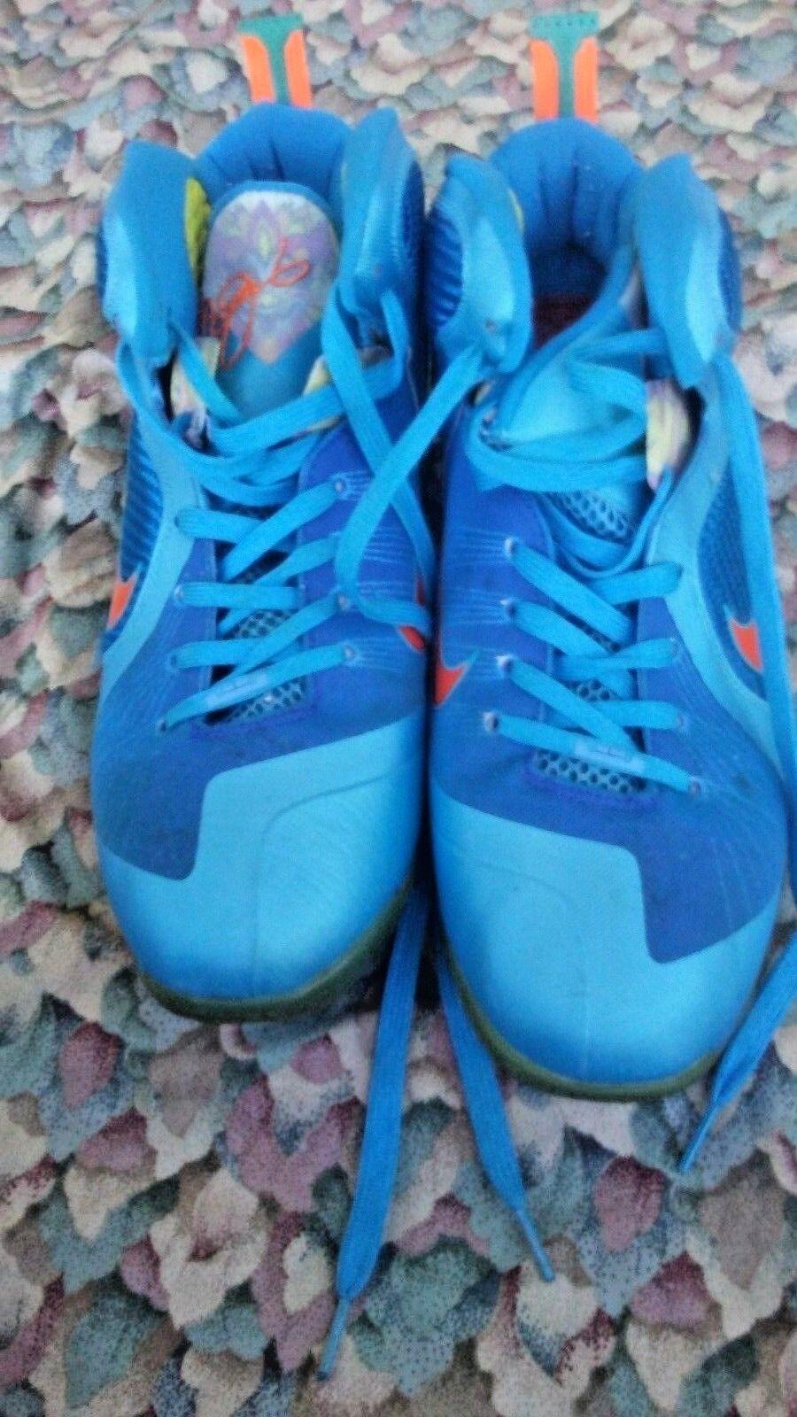 NIKE LeBron   2018 469764-800 Shoes Sneakers  Size 12  Men Blue