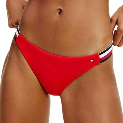Red Glare Tommy Hilfiger Women Cheeky Flag Bikini Bottoms