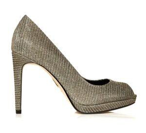 3 66 £ Rrp Gold Sko Court 5 Størrelse Pelle Moda Edition 37 Kareeni I Limited 4 qw757Cd