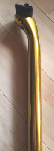 27.2 250mm  265g NEW Gold Extra Light Seat Post
