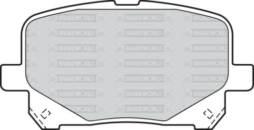 OEM SPEC FRONT DISCS PADS 274mm FOR TOYOTA PREVIA 2.0 TD 2001-02