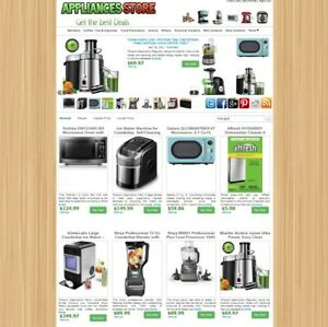 Kitchen Appliances Store Amazon, eBay, ClickBank Affiliate Website - AUTO UPDATE