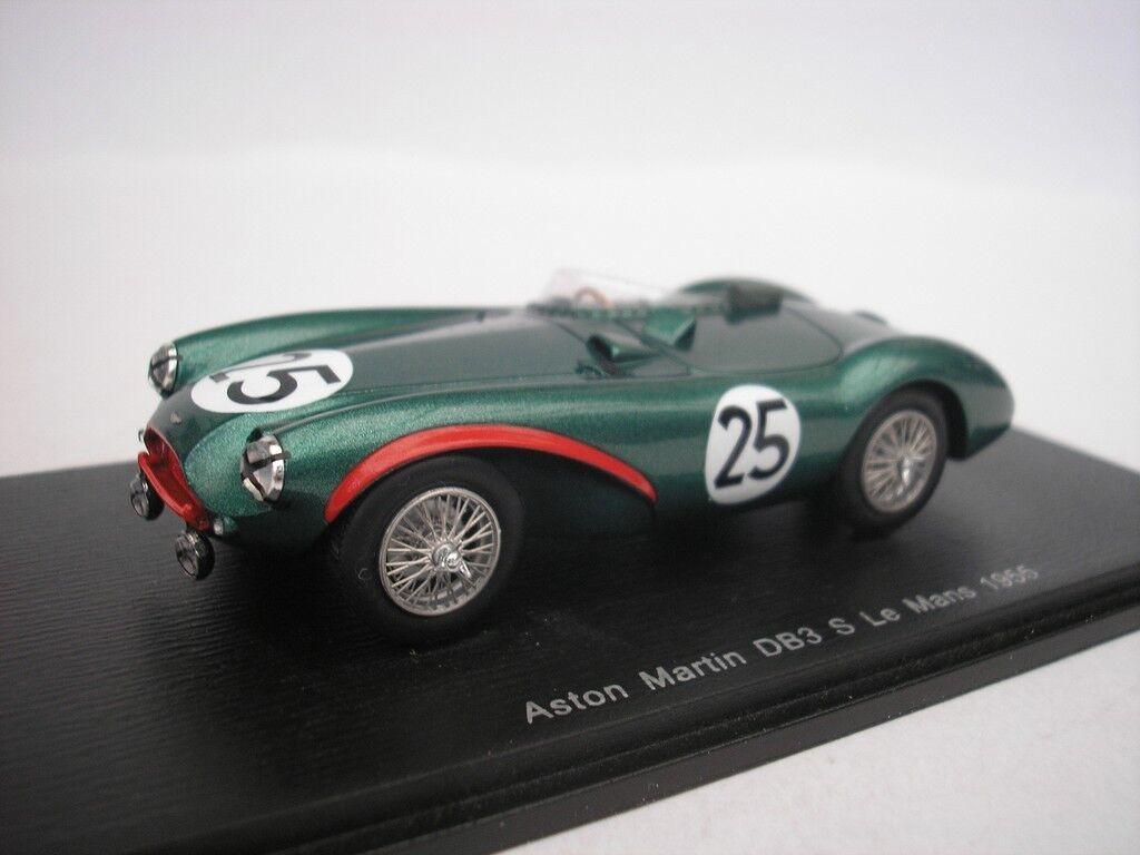 Aston Martin db3  s  25 Le Mans 1955 t. Brooks 1 43 spark s2422 NEUF  loisir