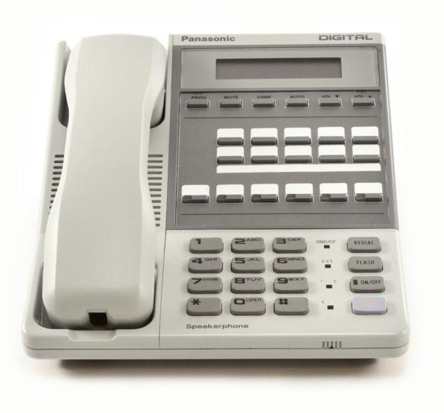 Fully Refurbished Panasonic Dbs Vb 42213 Speaker Display Phone Grey