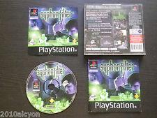 JEU Sony PLAYSTATION PS1 / PS2 : SYPHON FILTER (complet, envoi suivi)