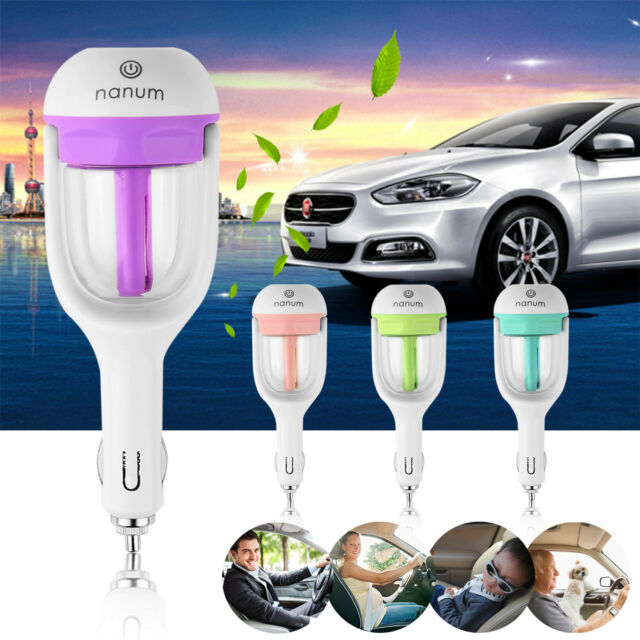 Car Aromatherapy Essential Oil Diffuser Ultrasonic Air Humidifier Purifier WDUK
