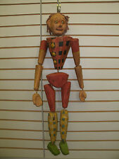 3' Pinocchio Paper Mache Marionette (Wall hanging Decoration)