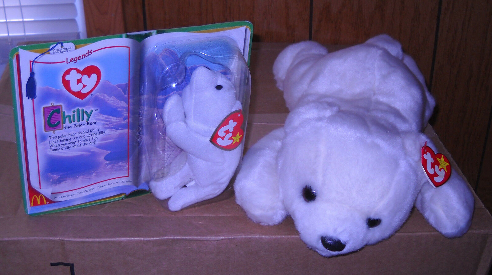 f997eb74629 Buy Ty Beanie Buddy -chilly The Polar Bear online