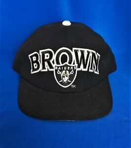 Vintage Deadstock Oakland Raiders Tim Brown  81 Starter Snapback Hat ... 8c04952f4
