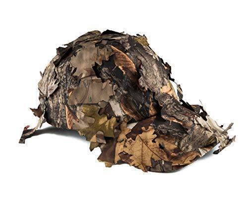 Jack Pyke 3D feuillu Baseball Hat Cap Head Camouflage Coupe feuilles de chêne Ajustée