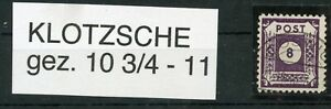 Ost-Sachsen-Postmeistertrennung-Klotzsche-44-Fa-Timbres-Plus-Sh-Boutique