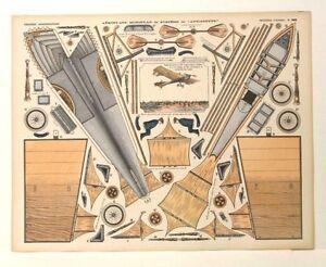 Imagerie D'Epinal No390 Monoplan du Système dit Antoinette/Gra<wbr/>ndes Constructions