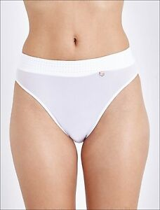 ELLE-MACPHERSON-BODY-The-Body-High-rise-Briefs-Bright-White-S-Knickers