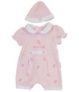 fead368da Image is loading BabyPrem-Premature-Baby-Girls-Romper-Playsuit-Pink-Clothes-