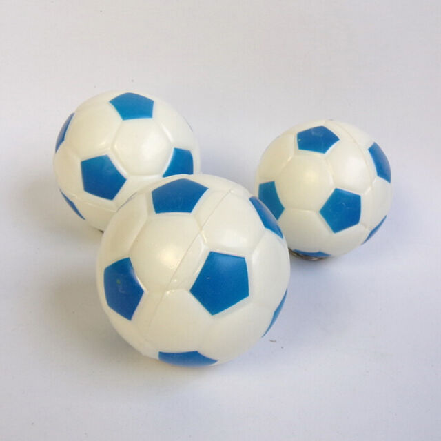 Soft Soccer Shaped Stress Ball Stress Relief Squeeze Foam Ball 6.3cm Xmas Gift U