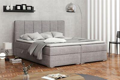 Boxspringbett Schlafzimmerbett Alvara 140x200cm Inkl.bettkasten Hoher Standard In QualitäT Und Hygiene