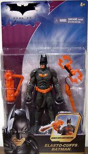 NEW-SEALED-Dark-Knight-Movie-Elasto-Cuffs-Batman-Action-Figure-amp-Cuff-Launcher
