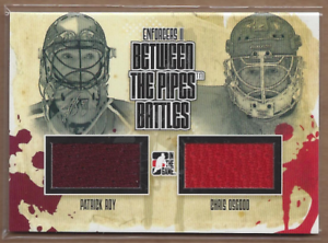 2013-14-ITG-Enforcers-Between-the-Pipes-BTPB02-Patrick-Roy-Chris-Osgood-Jersey