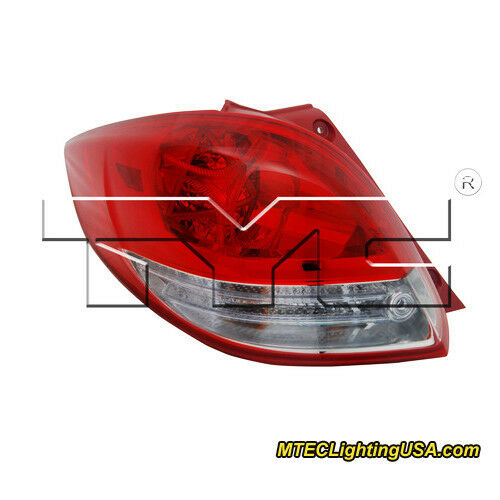 TYC NSF Left Side Tail Light Lamp Assembly for Hyundai Veloster 2012-2015