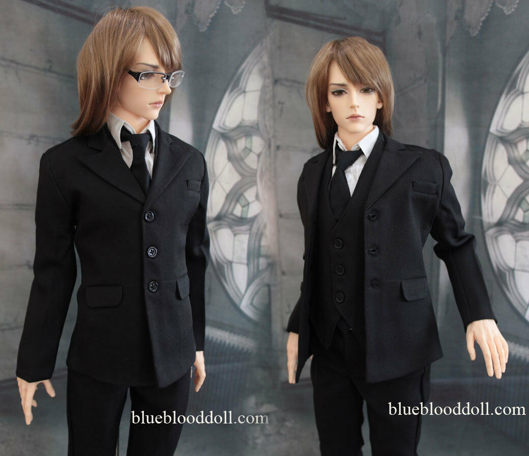 1 3 Bjd 70cm Iplehouse Eid Hero Macho Muñeca Set Traje Dollfie M3-106he Ship Us