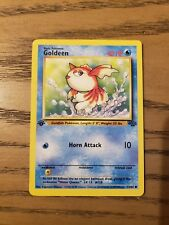 Pokemon Card From Jungle Set Common Card Goldeen 53//64