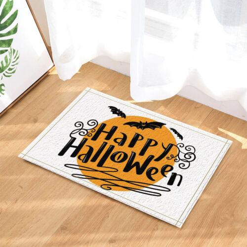 "Halloween Creative Bat Pumpkin Waterproof Bathroom Fabric Shower Curtain 71*71/"""