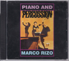 Salsa RARE CD FANIA First Pressing MARCO RIZO Piano & Percussion BRUCA MANIGUA