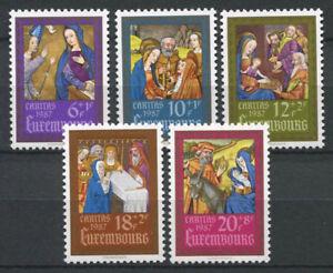 Luxembourg-1987-Mi-1185-1189-Neuf-100-Caritas-Art