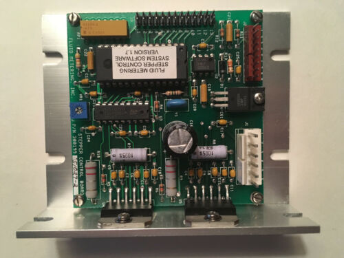 Firmware V2.3 or V1.7 Fluid Metering Inc 300199 STEPPER CONTROL BOARD Qty 1