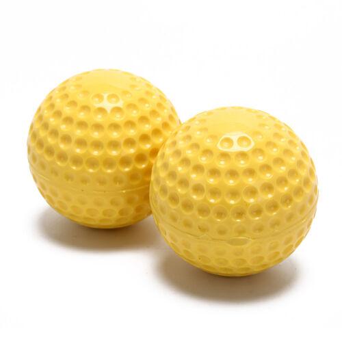 9 baseballs pu inner soft baseball balls softball training exercise baseball  R